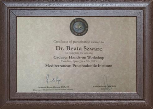 Beata Szwarc Stomatologia implanty